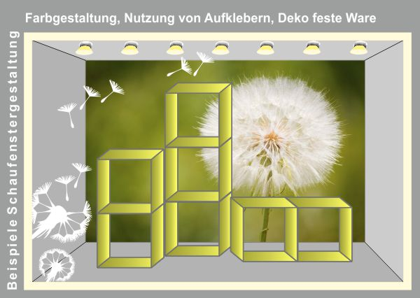 schaufenster dekorieren tipps blog3. Black Bedroom Furniture Sets. Home Design Ideas
