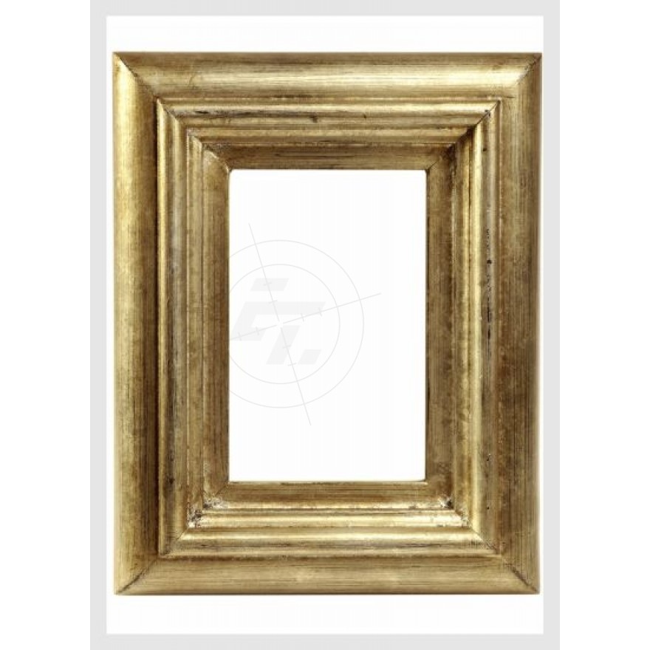 goldener Bilderrahmen, Schaufensteraufkleber und Fensterfolien ...