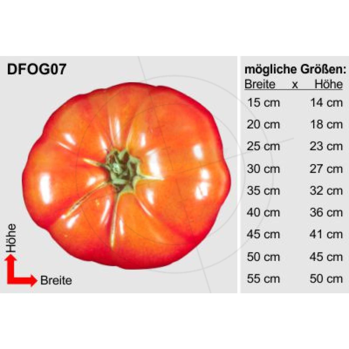 aufkleber einzelne tomate schaufensteraufkleber und fensterfolien online bestellen. Black Bedroom Furniture Sets. Home Design Ideas