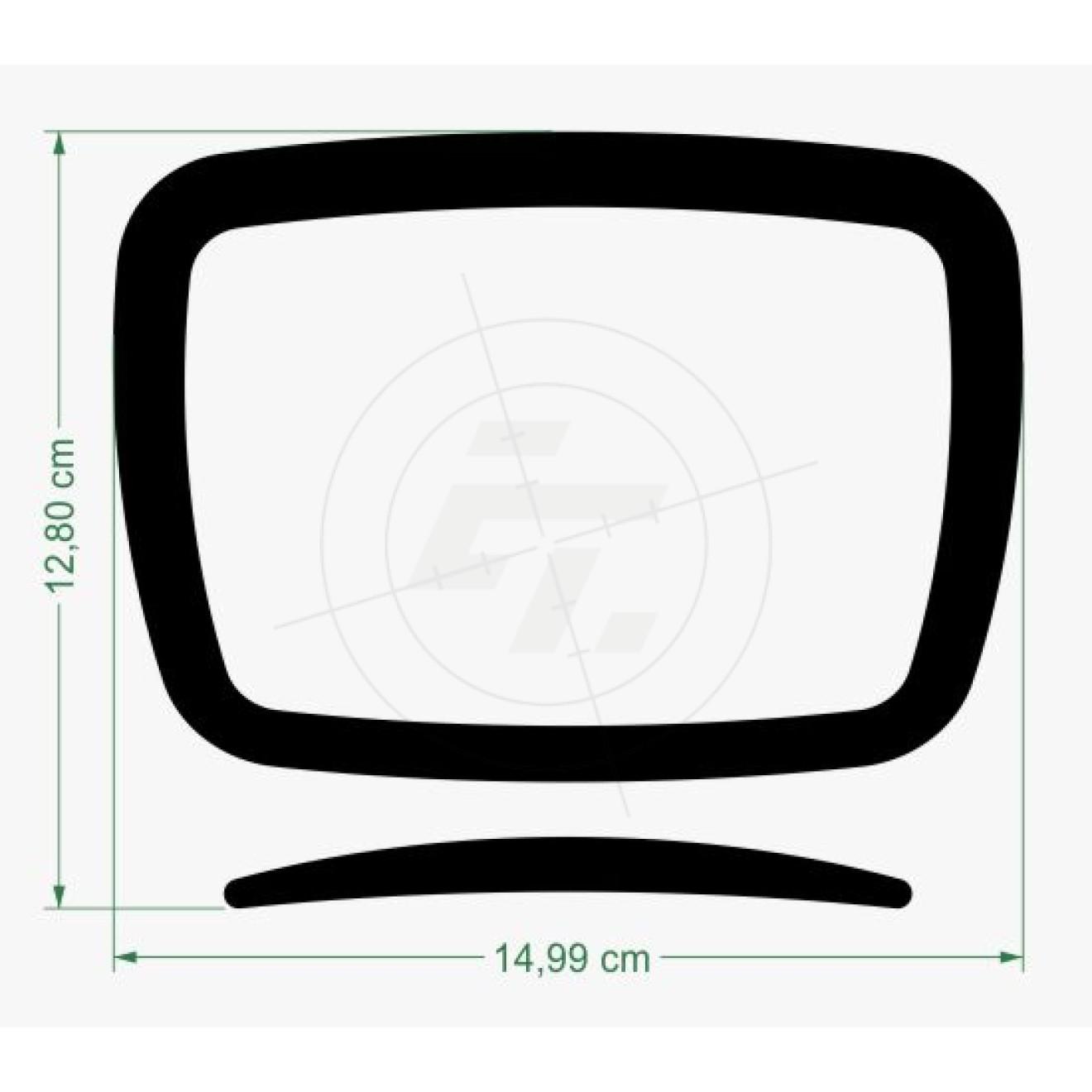 aufkleber fernseher flachbildschirm schaufensteraufkleber und fensterfolien online bestellen. Black Bedroom Furniture Sets. Home Design Ideas