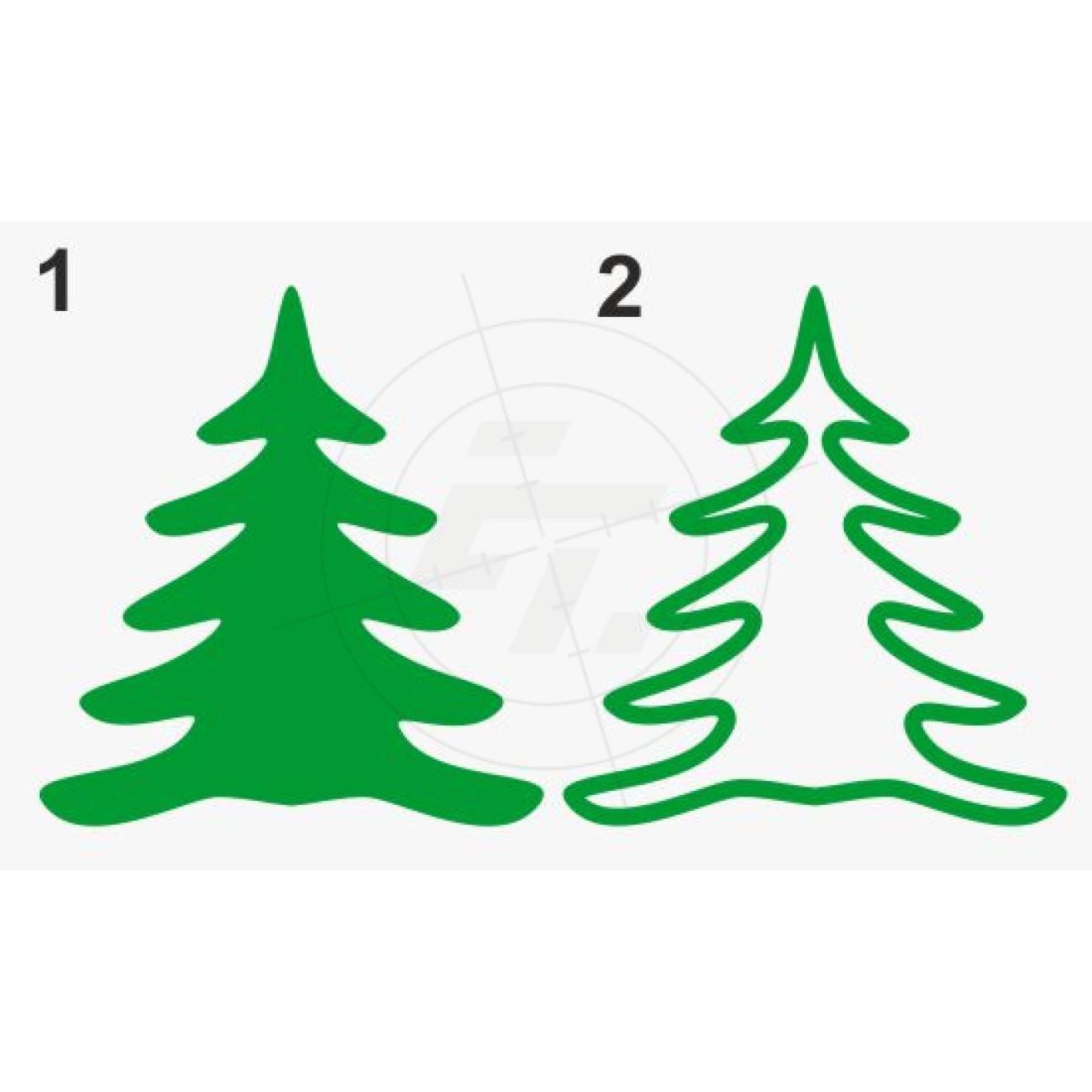 weihnachtsbaum schaufensteraufkleber und fensterfolien. Black Bedroom Furniture Sets. Home Design Ideas