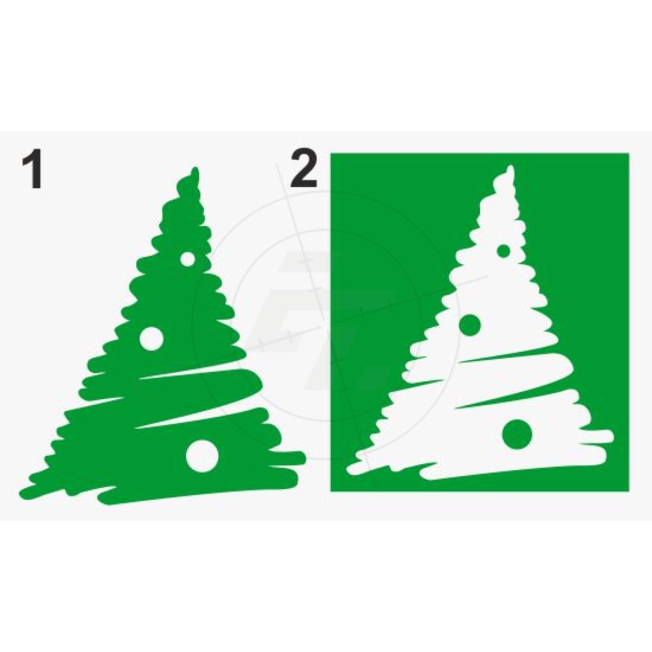 weihnachtsbaum mit weihnachtskugeln schaufensteraufkleber. Black Bedroom Furniture Sets. Home Design Ideas