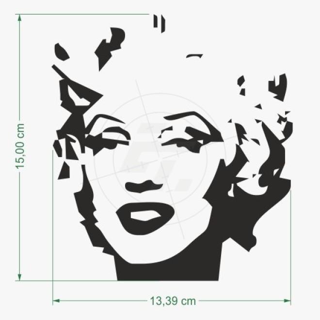 aufkleber marilyn monroe silhouette schaufensteraufkleber und fensterfolien online bestellen. Black Bedroom Furniture Sets. Home Design Ideas