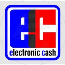 Sticker Electronic cash